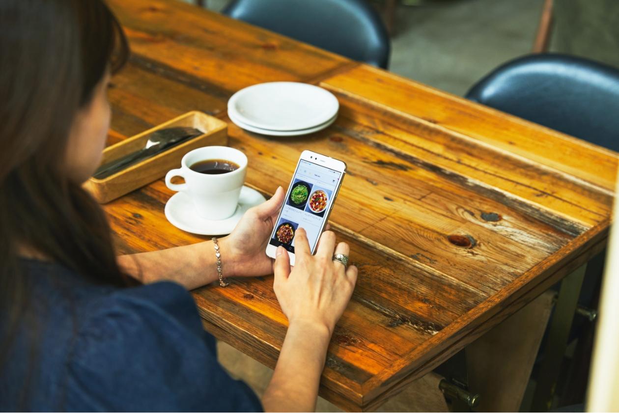 スマホテーブルオーダー(モバイルオーダー)